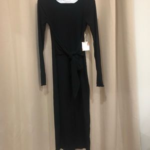 Sexy Fitted NWT Forever 21 Sexy Black Dress